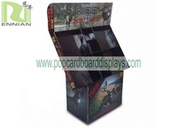 cardboard floor standing CD display