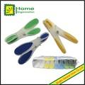 cores sortidas de plástico aperto macio clothespins