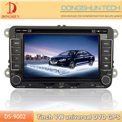 Golf universal 2 din car radio with TV camera optional