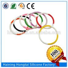 Tiffany thin silicone string bracelet