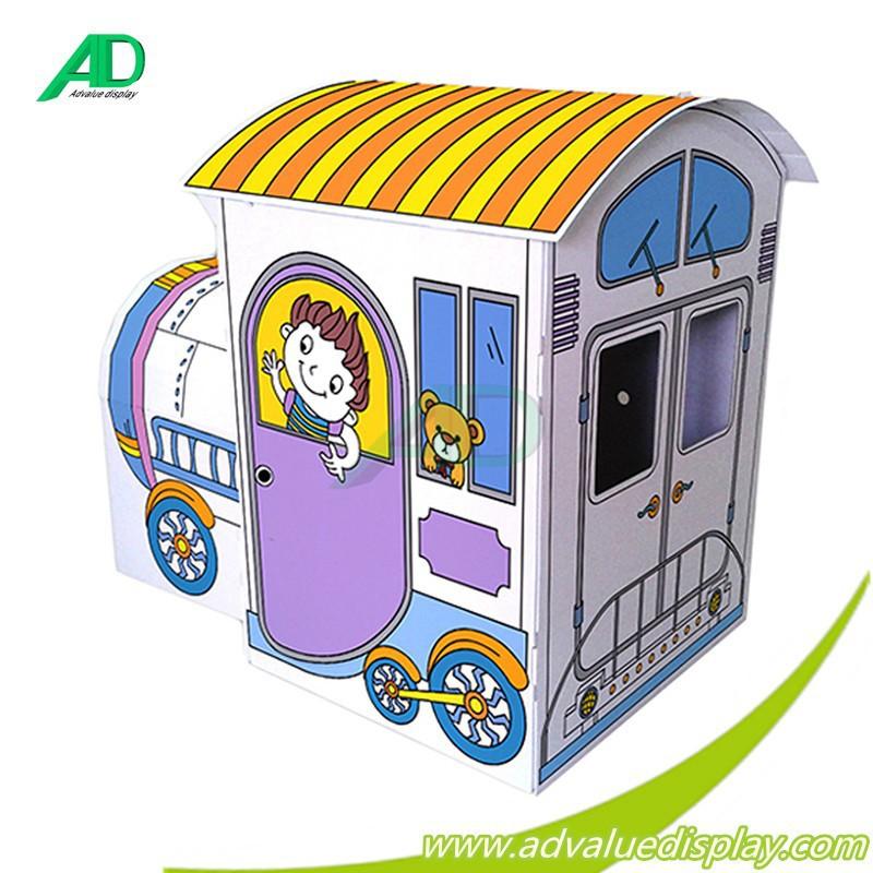 Cardboard Train Playhouse Corrugated Cardboard Train