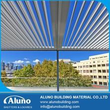 Aluminum Electric Louver Roof