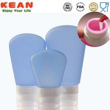 uygun bpa ücretsiz silikon şeffaf plastik soda şişeleri