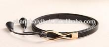 fancy skinny 100% genuine leather belt pendants belt YJ-E2040