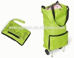Hot selling foldable shopping trolley bag EG016