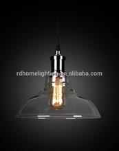 newest Cheap price classic glass lamp pendant