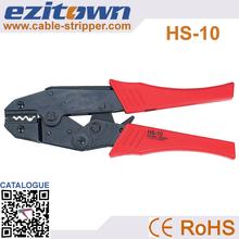 Nuova generazione di piegatura capacità 1.5- 6mm2 risparmio energetico a cricchetto pinza terminale elettrico