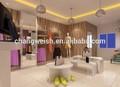 roupas de exposição da loja de design