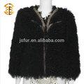 großhandel nageldesign dame aus echtem mongolische lammfell jacke mantel für frauen