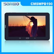 Sola tarjeta de SIM apoyado TV PC de la tableta de 9 pulgadas Android4.2 WiFi MTK6572 de doble núcleo de 1.3 GHz 3 G GPS de la tableta CMSWPB190
