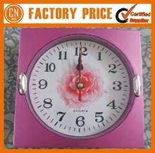 Logo Custom Plastic Customized 3D Wall Clock