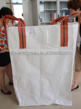PP Woven Bulk Bag reycled, pp jumbo bags supplier, PP BIG WHITE USED scrap mixed colour polypropylene jumbo bag PP supplier