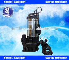 "Dirty water pump submersible pump with float 1500 Watt + 20m 2 ""fire brigade"