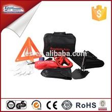 Black emergency Road Kit