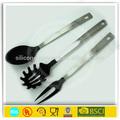 Eco- ambiente de silicona utensilios de cocina de plástico utensilios de cocina