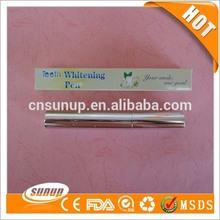 2ml teeth whitening brush pen, easy white teeth whitening silver pen with nice box