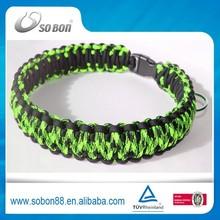 Whosesale paracord dog pet collar