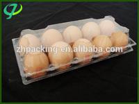 wholesale plastic blister clamshell PVC/ PET egg trays