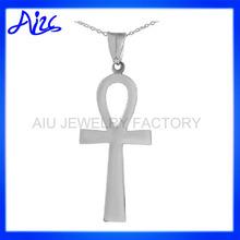 religous christian sterling silver ankh pendant