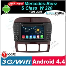 Multimedia original car for Benz S class Android 4.4OS Car gps BNZ-7509GDA