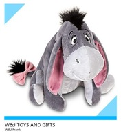 High quality plush eeyore, cute plush toy horse stuffed animal toys