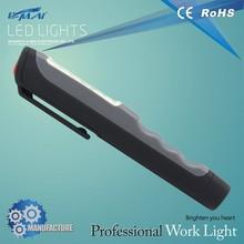 flexible high power 6 led clip pen light