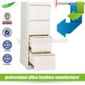 Bureau 4 tiroir classeur/verticaux en acier armoire à tiroirs/kd. armoire à tiroirs en métal