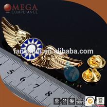 New eagle lapel pin star/ 2015 new hot metal lapel pin