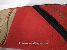 Toallas deportivas de microfibra con cierre de cremallera bolsillo de la fábrica