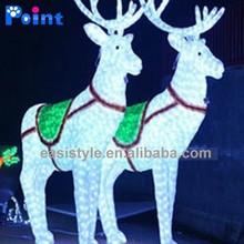 Wonderful christmas ornament /christmas led reindeer/reindeer sculpture wholesale