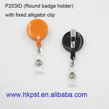 Badge holder wtih alligator clip