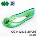 Verde de moda de noche elegante zapatos casuales