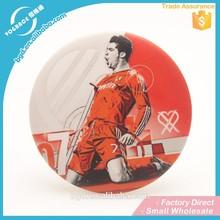 Factory Supply Fashion Design tinplate basketball star Badge