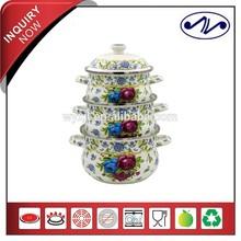 3 pcs Porcelain Enamel Cookware