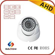 1.3 Megapixel IR CUT COMS IP66 Dome Indoor 2.8-12mm Varifocal Lens Analog Camera Camera AHD Low Illumination