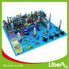 Ocean Blue Used Children Indoor Playground Equipment for Sale in Large Size with Soft Play Toys