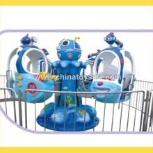 Interesting Popular Blue indoor electric merry go round H41-0573