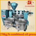 Pequeño baobab máquina de extracción de aceite copra máquina de extracción de aceite