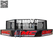 MMA fighting cage
