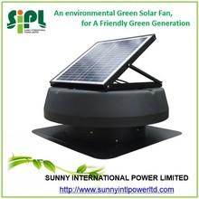 new innovative dc solar roof fan Inbuilt Solar Panel Powered