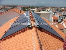 Vacuum tube collectors Solar Hot Water Heating System U Pipe