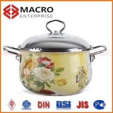 cooks tradition stick-resistant enamel cast iron cookware
