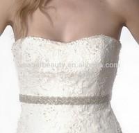 Top Seller Fashion Handmade Iron on Dress Sash for Wedding R2318