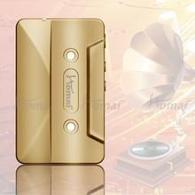 Homai 0.5ohm low resistance 30w e cig cassette tape box mod with Micro USB