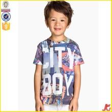 cotton printing baby boy t-shirt