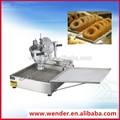 fousflexibilité face en acier inoxydable donut machine automatique industrielle