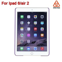 China manufacture rubber cases for ipad 6 /air2 cover ,mobile phone case for ipad 6 /air2