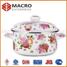 cast iron enamel cookware/enameled pan