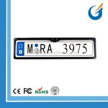 High Quality Hide European license plate rear view camera