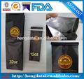 Custom impressão do saco de plástico com amarrá-lata para embalagem de café